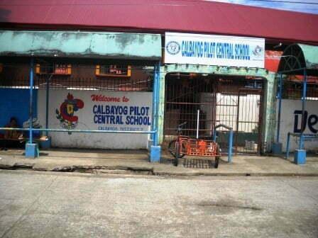 calbayog pilot central school texan in the philippines. Black Bedroom Furniture Sets. Home Design Ideas